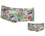 Herren Waist Short -Summer Comics-