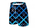 Schwimmshort junior -Printed Check Watershort- (blau)