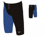 Hightech Jammer - LZR Racer Elite 2 (low waisted - schwarz-blau)