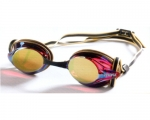 Schwimmbrille -Pulse mirror- (gold)